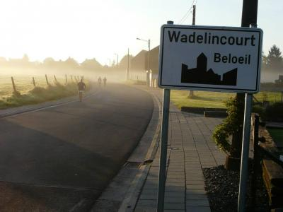 Wadelincourt a 7 heures le matin